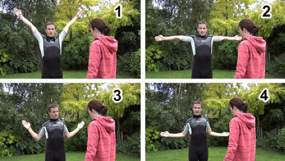 Swimmers Shoulder Chest Shoulder Posture Stretch